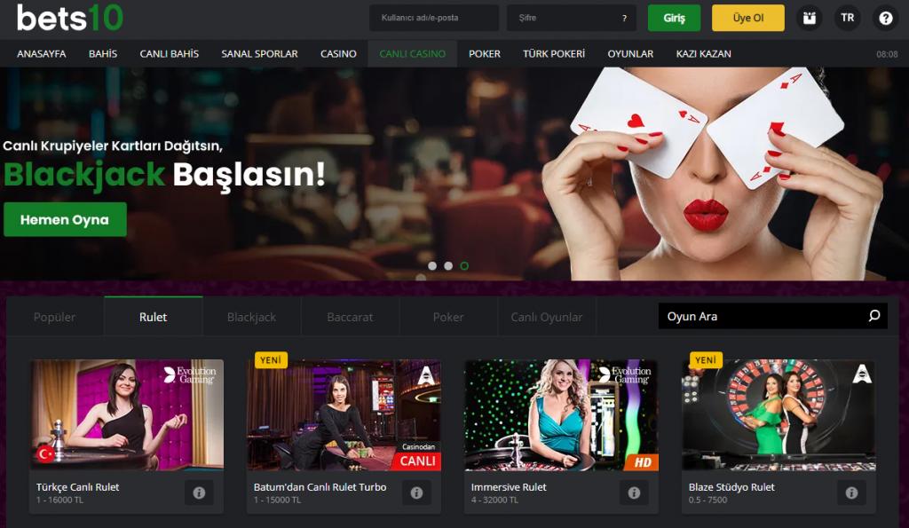 Best10 Canlı Casino